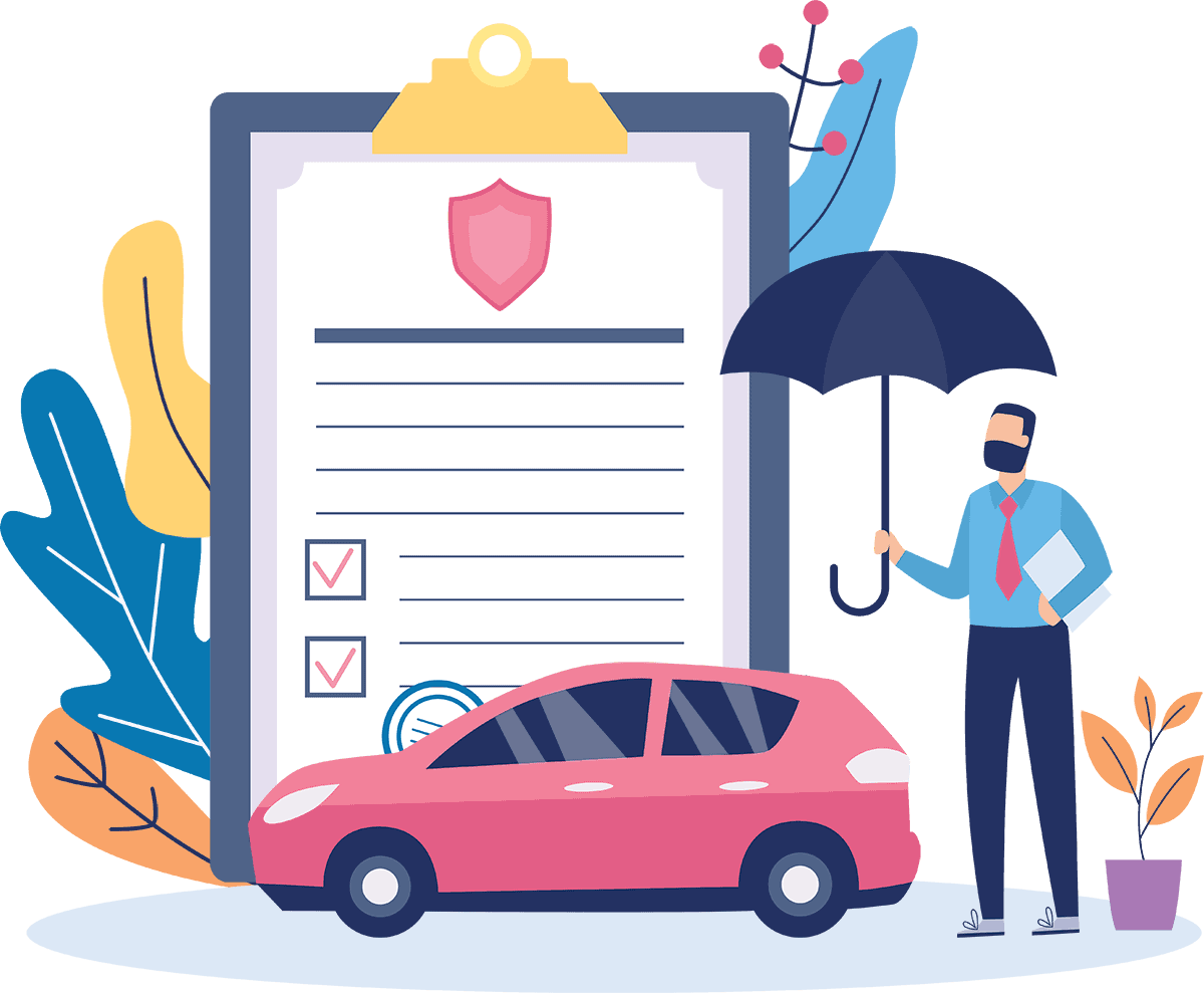Starco insurance auto insurance illustration
