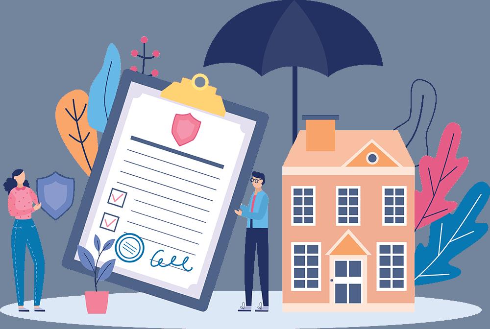 Starco insurance homeowners insurance illustration